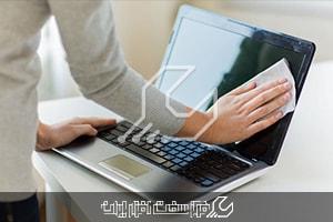 تمیز کردن نمایشگر لپ تاپ