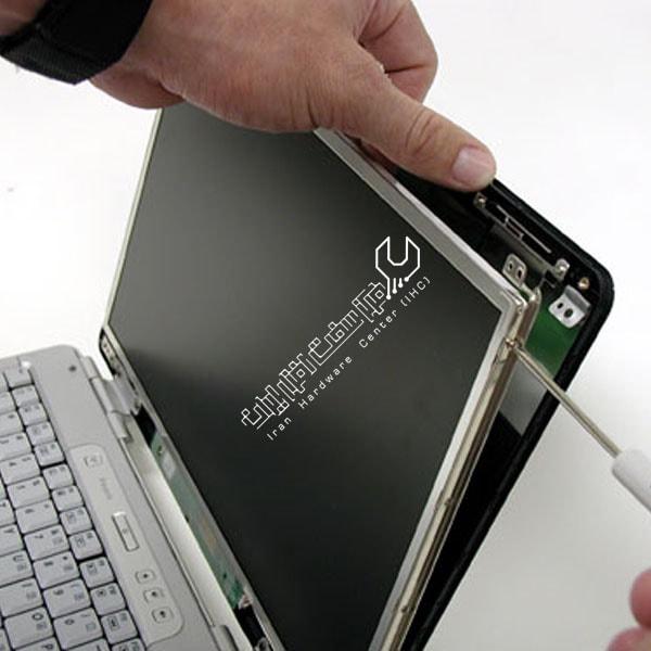 آموزش تعویض LCD لپ تاپ دل