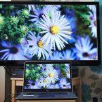اتصال لپ تاپ دل به تلویزیون