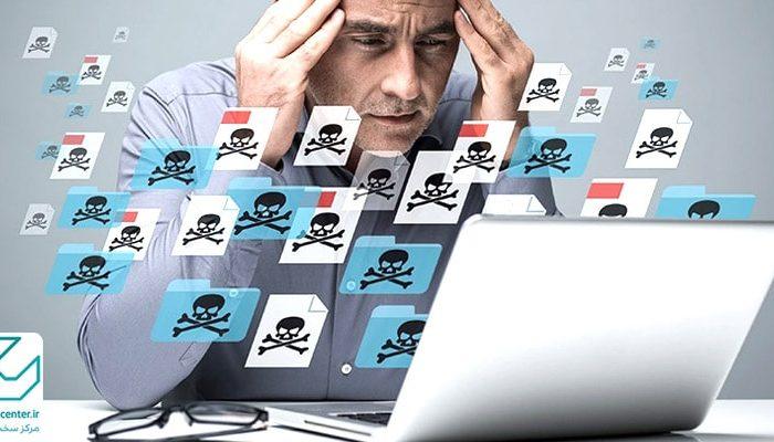 چطور بدانیم لپ تاپ ویروسی شده است؟