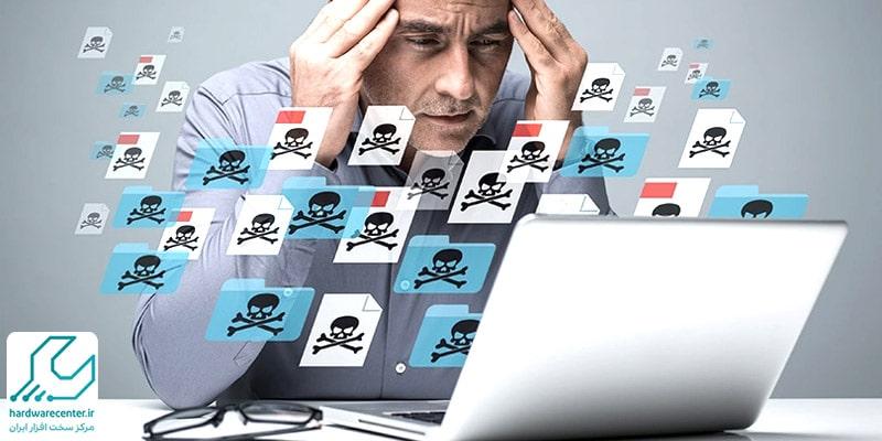 علائم ویروسی شدن لپ تاپ